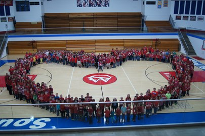 Our Students Have Heart at Southern Wells Elementary